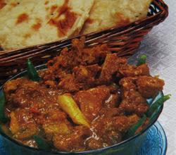 Mutton Curry With Naan