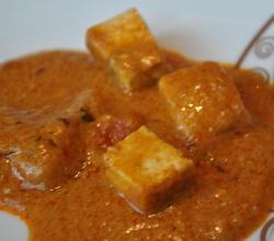 Paneer Makhani - Cottage Cheese In Tomato Gravy