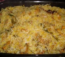 Pucci (Hyderabi Chicken Biryani)- Main Course