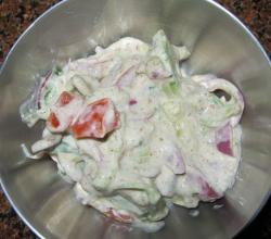 Homemade Raita