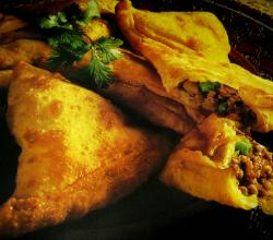 Samosas With Potato-pea stuffing