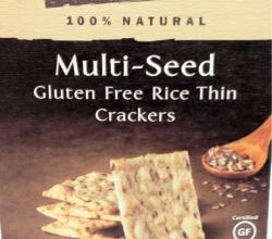 Multi Grain Gluten Free Rice Cracker