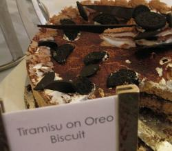 Tiramisu On Oreo Biscuit