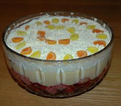 Trifle with Citrus Candies