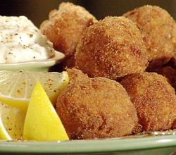 Almond Crabmeat Balls