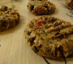 Almond Goji Cacao Chip Cookies