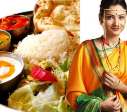 Ankita Lokhande with Indian Dish