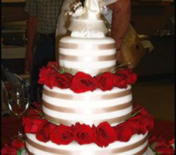 Multi Tier Wedding Cake