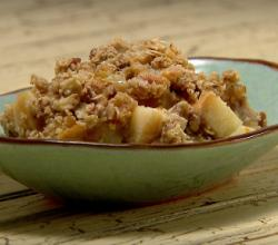 Cheddar Apple Crisp
