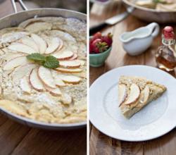 Baked Apple Puff Pancake