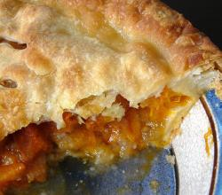 Ham and Apricot Pie