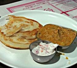 Avadhi Breakfast Sabji Paratha