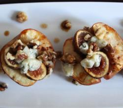 Baked Apples With Figs