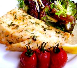 Baked Cod Steaks