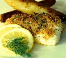 Baked Lemon Halibut