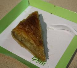Baklava in Sofia Bulgaria