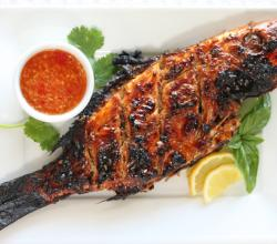 Barbecued Snapper