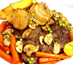 Old Fashioned Beef Pot Roast With Tomatoes