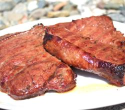 Beer Basted Sirloin Steaks