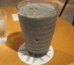 Black sesame milkshake