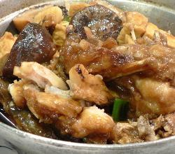 Braised fish head in pot