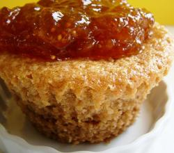 Bran Muffin with Tangelo Fig Compote