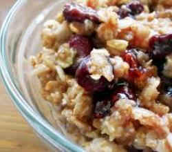 Cherry Vanilla Oatmeal