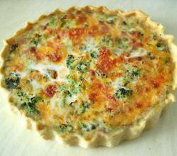 Broccoli Cheese Quiche