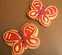Butterfly Shortbread Cookies