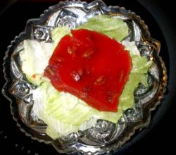 Cabbage and Apple Gelatin Salad