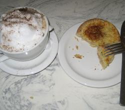 Cappuccino and Quiche