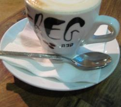 Cappuccino at Cafe Greg