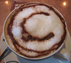 Cappuccino at Puccino's, Cork