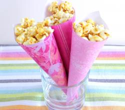 Vegan Caramel Popcorn