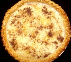 Caramel Custard Pie
