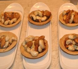 Caramel and Nut Tarts