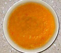 Carrot Puree