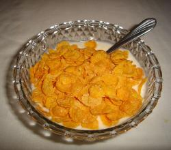 Cereal con yogur