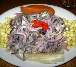 Ceviche de caballa