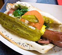 Chicago Famous hot dog