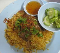Chicken Biryani with Salad
