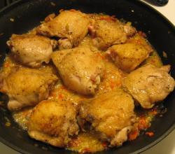Chicken Fricassee With Parsley Sauce