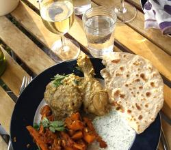 Chicken Masala with chapati
