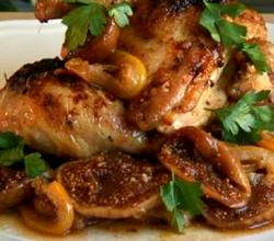 Chicken with Figs in Red Wine