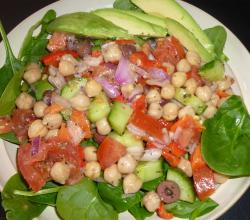 Chickpea Salad Evelyn