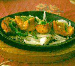Chicken Tikka with cheese