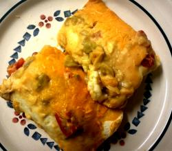 Chile And Cheese Enchiladas