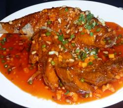 Chinese Fish in Red Sauce