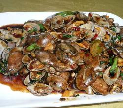 Chinese Mussels with Sauce