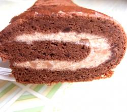 Chestnut And Rum Swiss Gateau